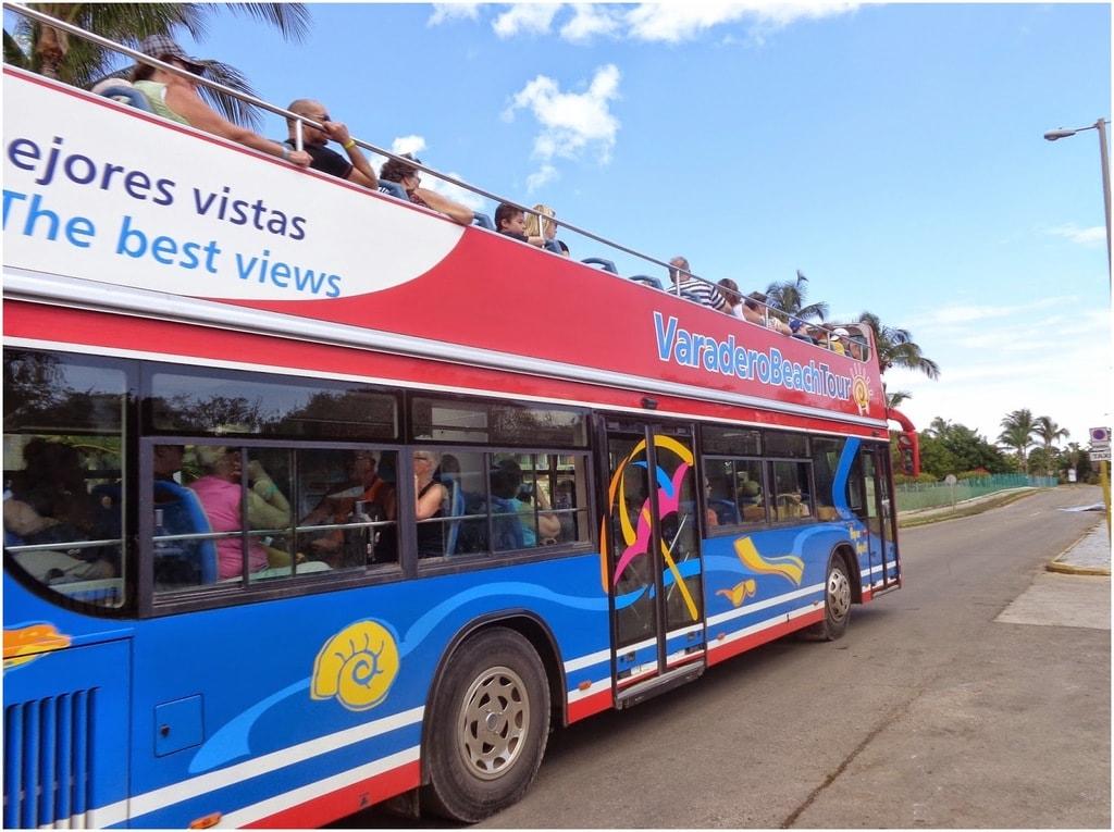 Des bus Transtur à Varadero
