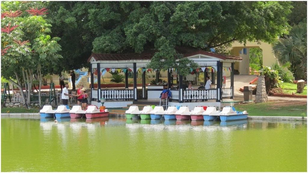 le parc Josone, Varadero, Cuba