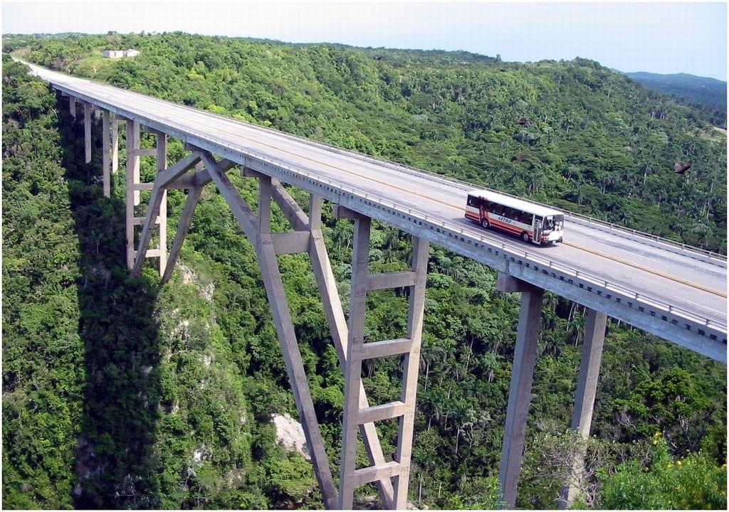 Pont de Bacunayagua Varadero, Cuba